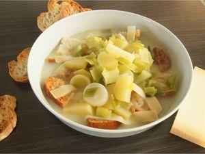 Soupe au gruyère suisse