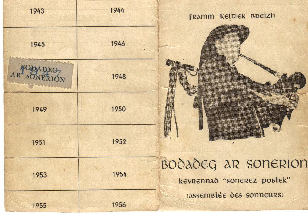 La carte de membre de BAS de mon oncle Jean Jacob ...