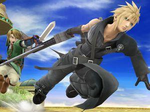 Cloud débarque dans Super Smash Bros. Wii U & 3DS