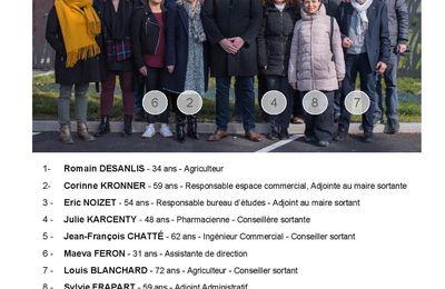Loisy sur Marne - Elections municipales des 15 et 22 mars 2020