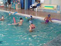Séance spéciale de natation