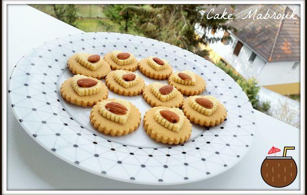 Biscuits vanille caramel et son coeur amande