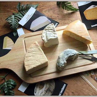La boite du fromager vient de me gâter ......