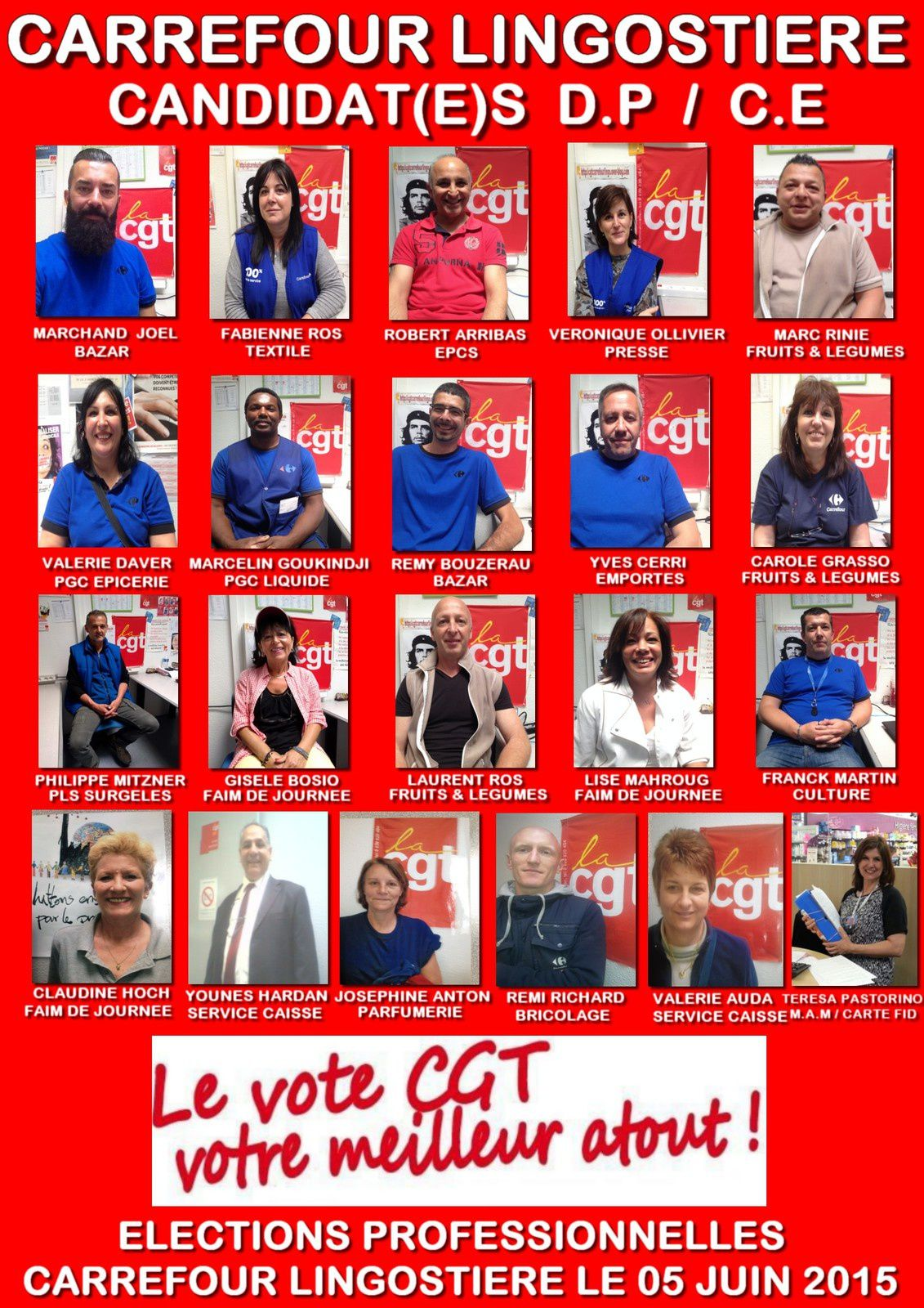 SPECIAL ELECTIONS 5 JUIN 2015