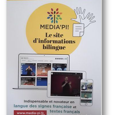 MEDIA'PI : un site d'information en langue des signes.