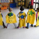 Super héros prêts chez Jocelyne