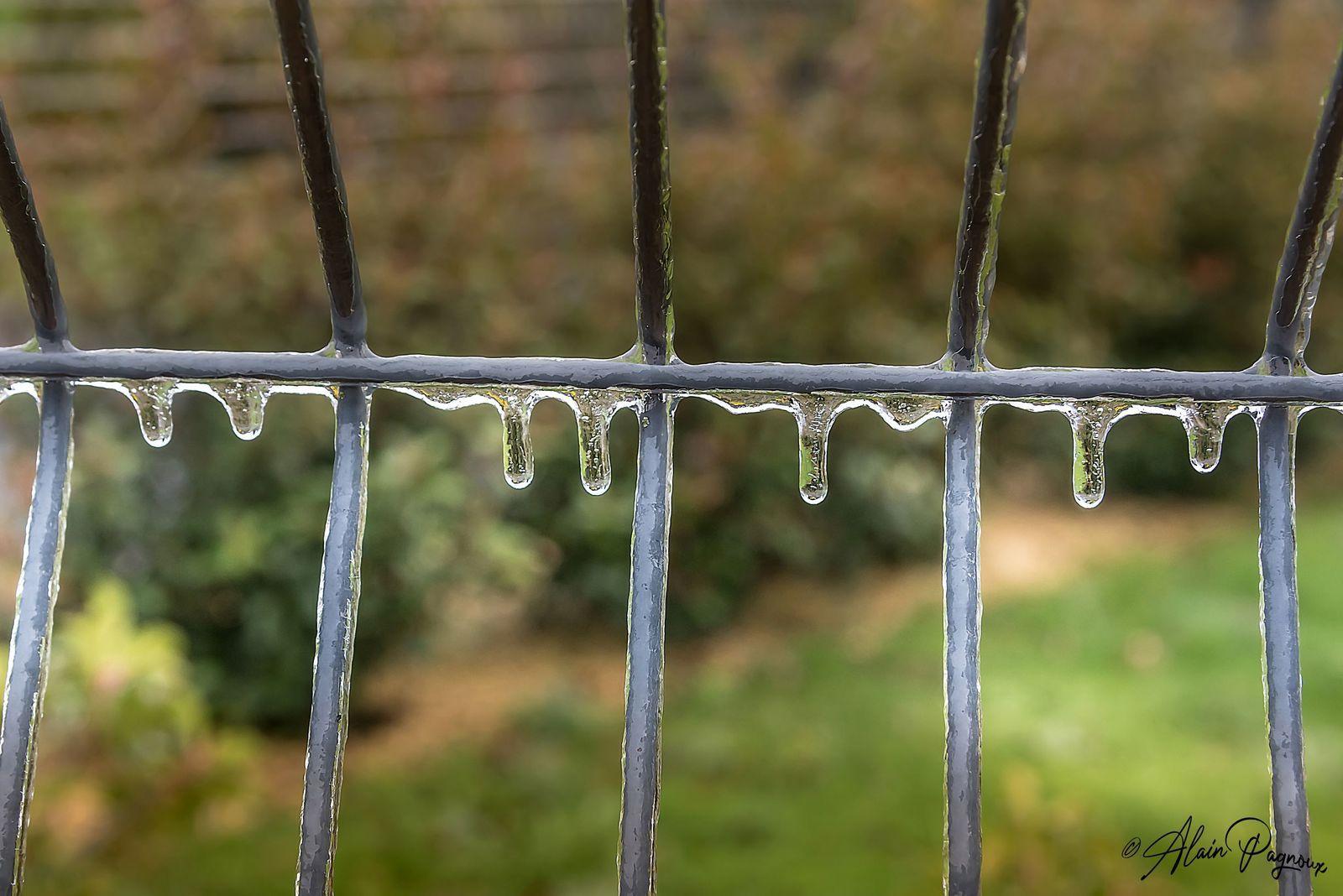 Le civraisien sous les pluies verglaçantes ...