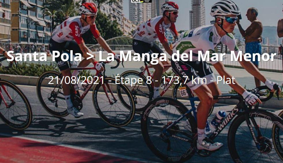 Vuelta 2021 : Sur quelle chaîne suivre la 8ème étape samedi ?