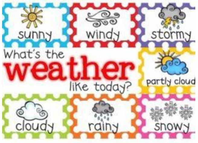 The Weather Forecast