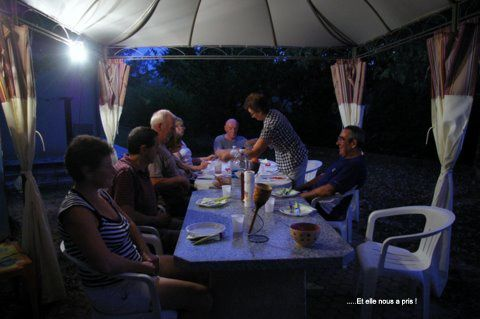 """notre sortie des """" côtes du Médoc"""" avec 150 participants et notre séjour à ALBIAS"""