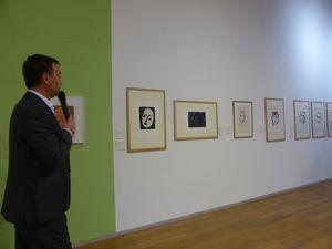 Vues de l'exposition Matisse et la gravure : l'autre instrument. Musée Matisse au Cateau Cambrésis © Gilles Kraemer Le Curieux des arts, visite presse 16 octobre 2015