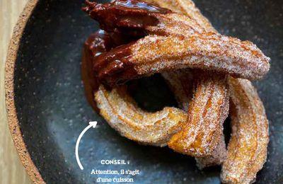 Recette : Churros sauce chocolat By Cyril Lignac