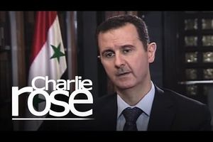 Bachar el Assad interviewé sur CBS News