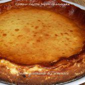 Gâteau ricotta façon cheesecake - Cuisine gourmande de Carmencita