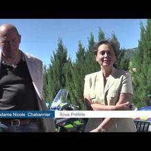 Gendarmerie de Castellane  : Renfort   estival   sur le secteur de  CASTELLANE reportage vidéo