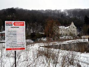 Des constructions sur le site de l'ancienne mine La Paix (ex sainte Barbe) à Algrange