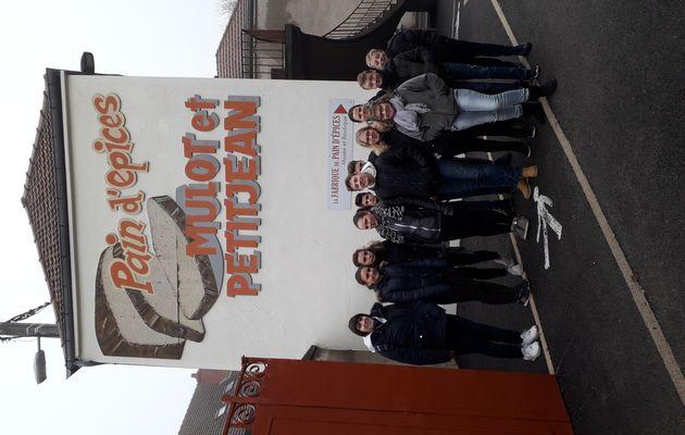 Visite de la fabrique de pain d'épices Mulot & Petitjean 4eS