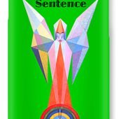 Sentence Text IPhone Case for Sale by Michael Bellon