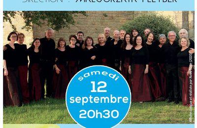 Concert à Locmariaquer samedi 12 septembre à 20h30