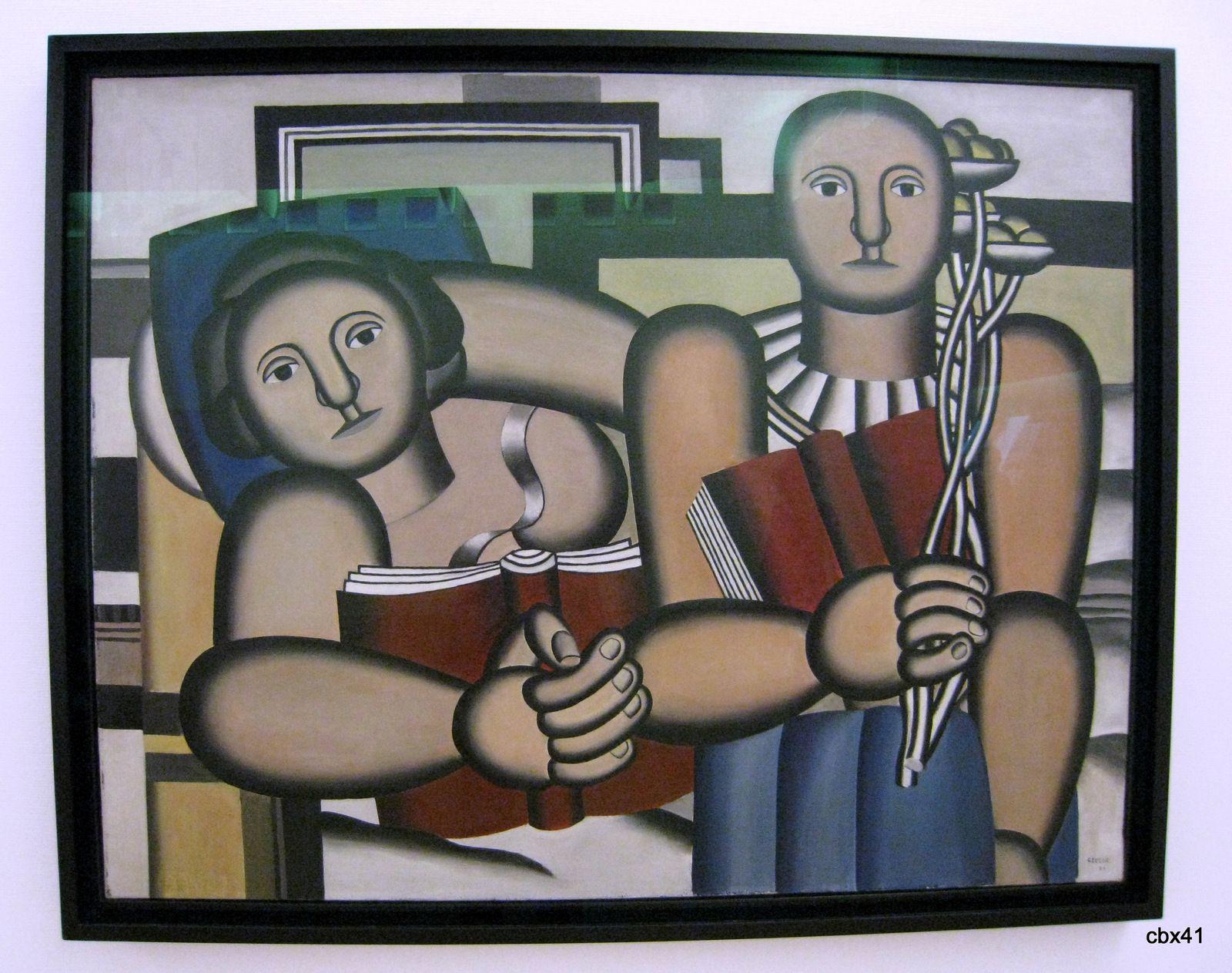 Fernand Léger, La lecture