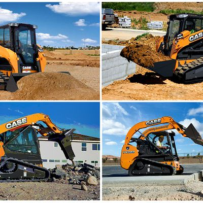 Compact Track Loader From Case