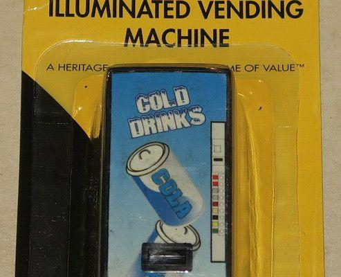 Distributeur de boissons avec éclairage échelle O K-line