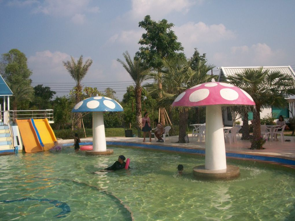 Thaïlande : Parc aquatique Happiness Udon thani