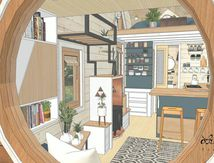 Tiny House - La Maison qui Chemine