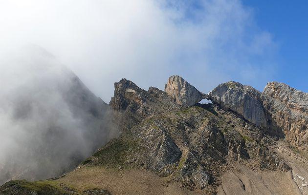 Randonnée au Trou de la Mouche, Massif des Aravis, les Confins, avec l'ADAPAR le 27.08.21