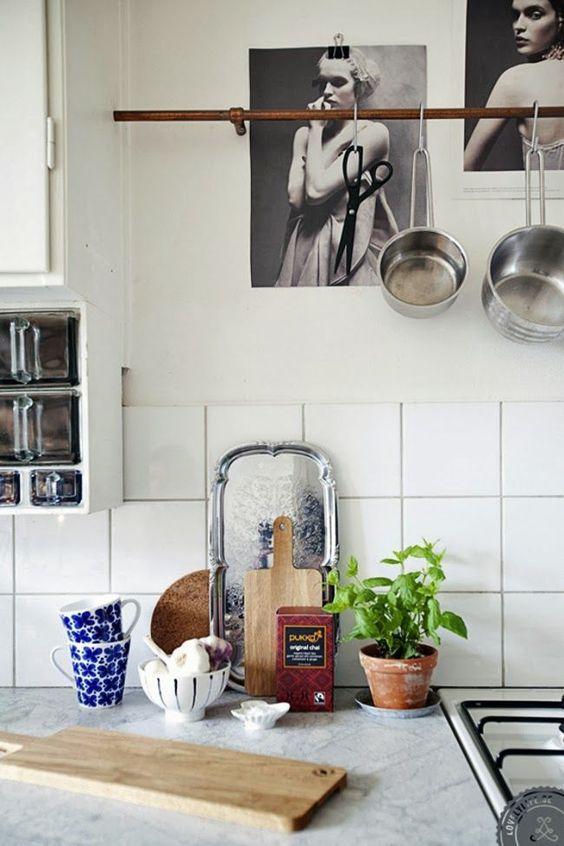 || cuisine || 40 belles inspirations pour des rangements en plus