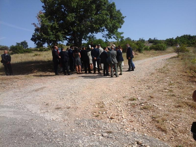 visite ministérielle du 5 juillet 2016, Hameau de forestage d'Ongles