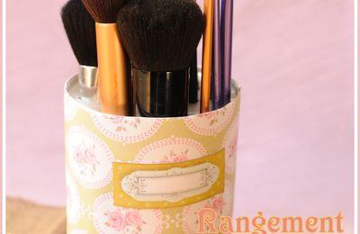 D.I.Y n°2: Rangement pour pinceaux make-up