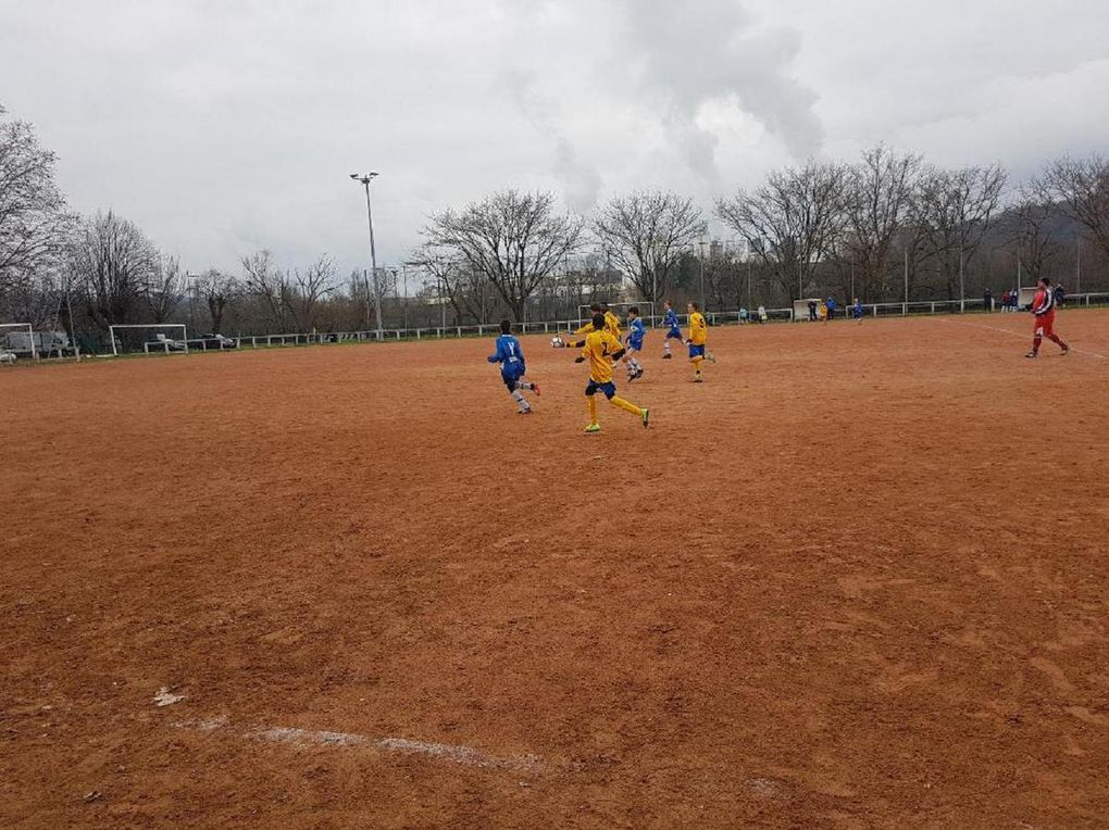 U15 - Match amical de reprise