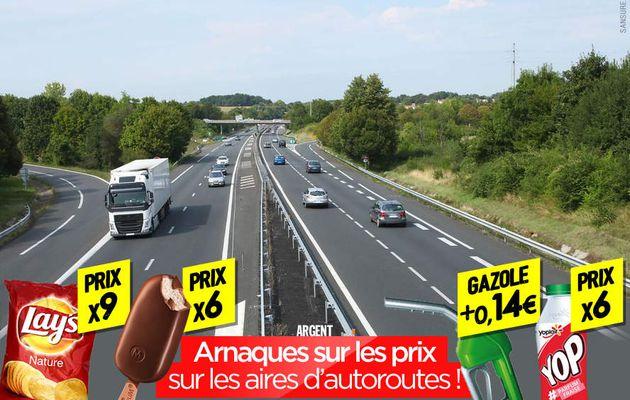 Arnaques sur les prix sur les aires d'autoroutes ! #StationService