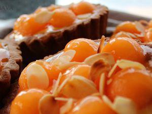Tartelettes de Melon sur Nuage de Mascarpone