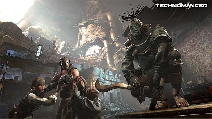 Jeux video: The Technomancer se dévoile avec son First Contact Trailer ! #Focus