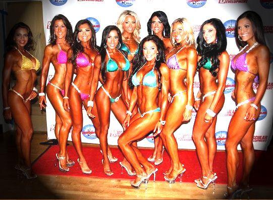 """Quels sont les critères et conditions pour faire des compétitions en catégorie """"Bikini"""" ?"""