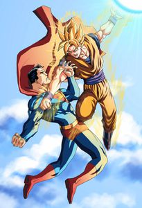 Flipbook : Goku vs Superman