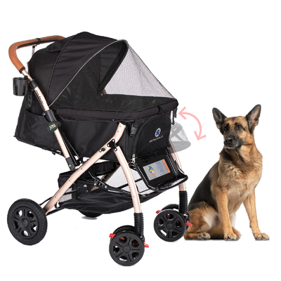 HPZ™ PET ROVER™: Best Pet Strollers and Accessories for Dogs and Cats