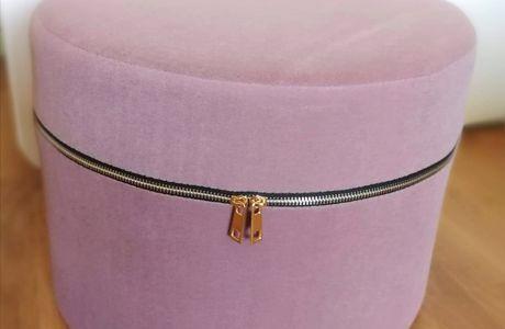 Meuble design : découverte du pouf zipper Venosa