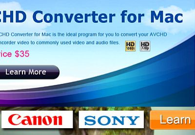 AVCHD MTS/M2TS Converter for PC and Mac