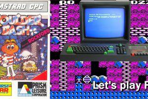Amstrad CPC - Boulder Dash