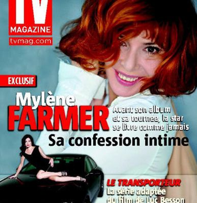 MYLENE FARMER DANS TV MAGAZINE + NOUVEAU TITRE