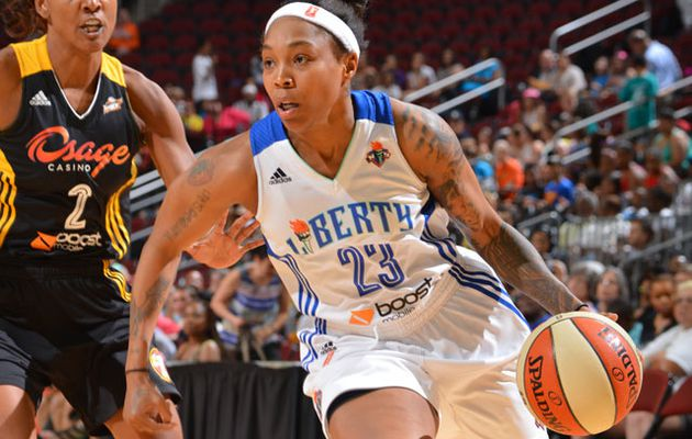 WNBA: Cappie Pondexter guide New York face à Tulsa