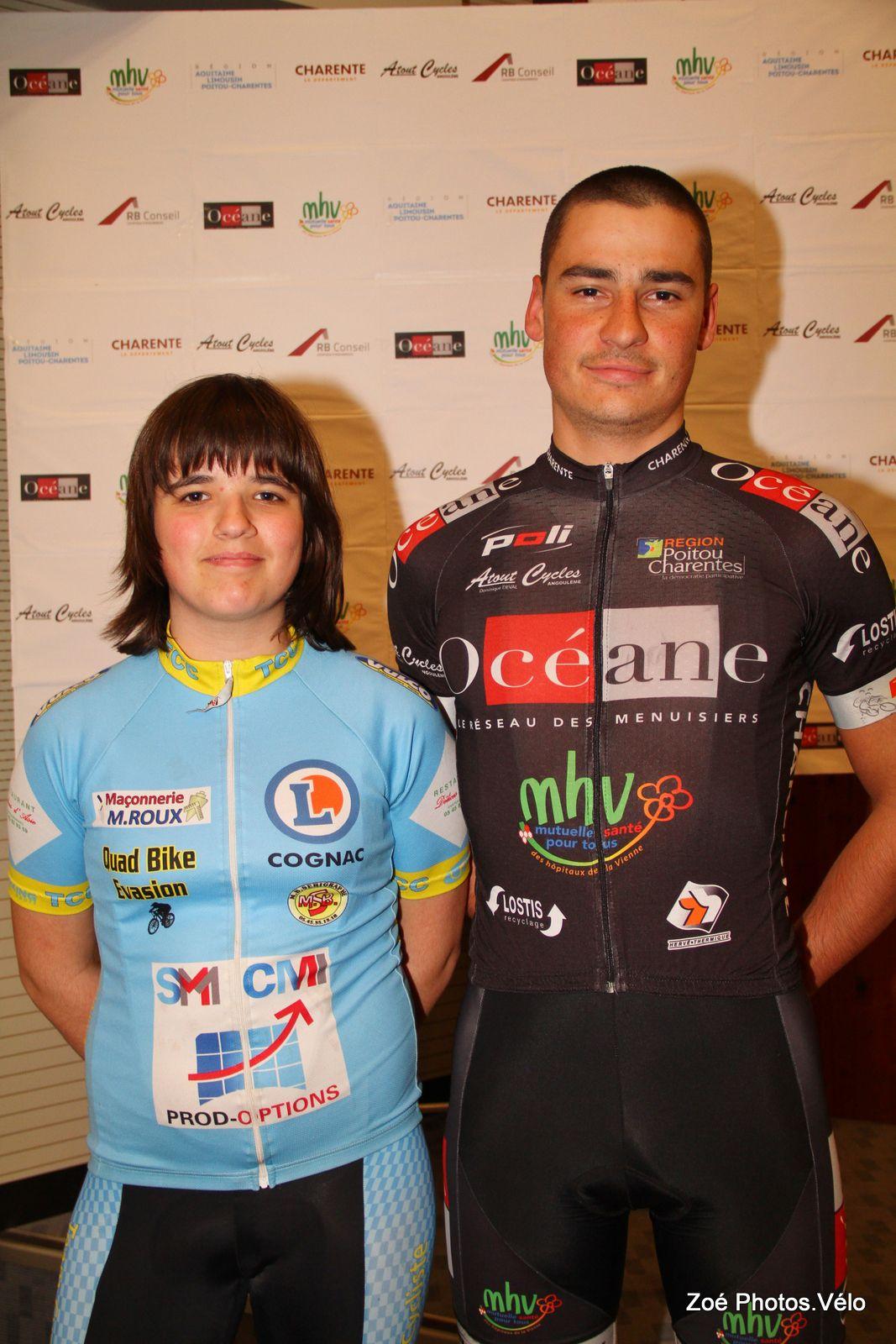 Lucien Capot aura-t'il un successeur au palmarès du Tour du Pays d'Aigre? (Photo Top 16)