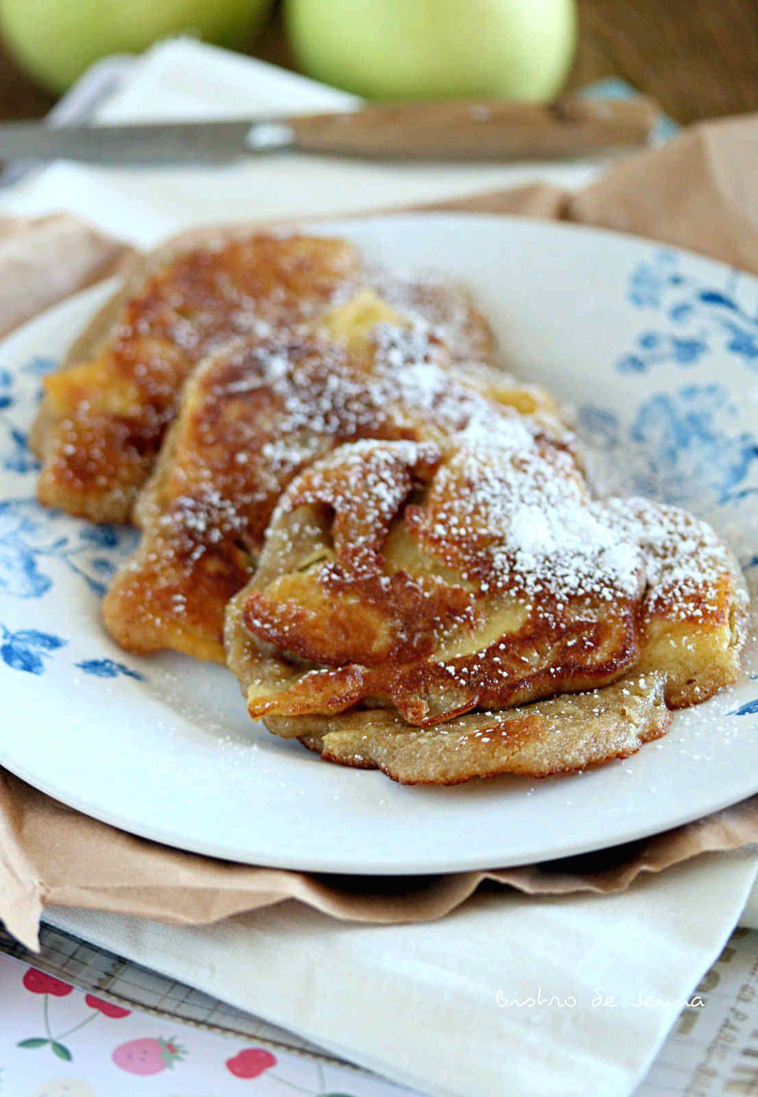 Pancakes aux pommes express
