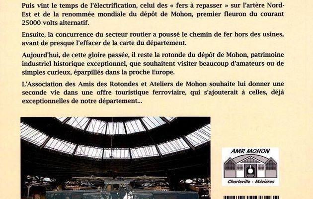 La rotonde ferroviaire de Mohon par l'ARAM (association de la rotonde de Mohon )