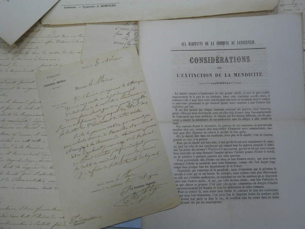 Sources documentaires : le service du patrimoine historique de Landernau