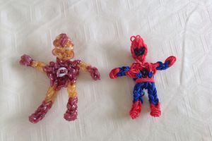 Rainbow Loom : super héros
