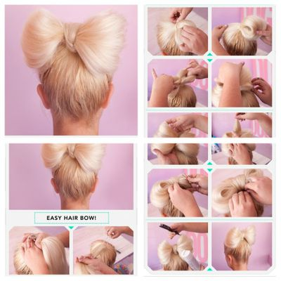 easy & sweet hairstyle